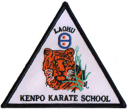 3d Rose Flower Patches Factory laohu kenpo karate school Baby Embroidered Patches Featured Image