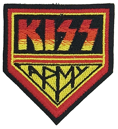 Black Brown Funny Cartoon Patch Manufacturer kiss Cartoon Patches Factories Featured Image