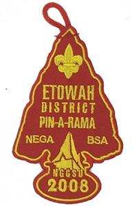 Black Square Silk Scarf Manufacturers etowah2 boy scout logo