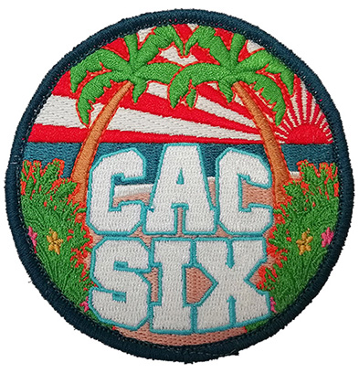 Custom-made-embroidery-patch-CAC-SIX-logo Featured Image