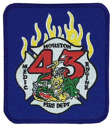 Coat Of Arms Patches Supplier houston fire dept Custom Letters Chenille Patch Supplier Featured Image