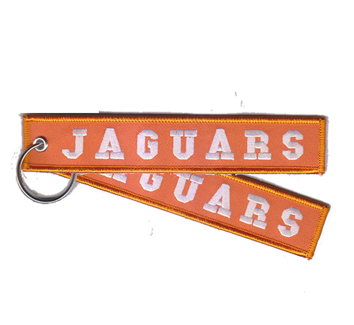 Fabric Key Ring Felt Key Chain Felt Key Tag Flight Key Ring Hot Sale Embroidery Key Ring jaguars Featured Image