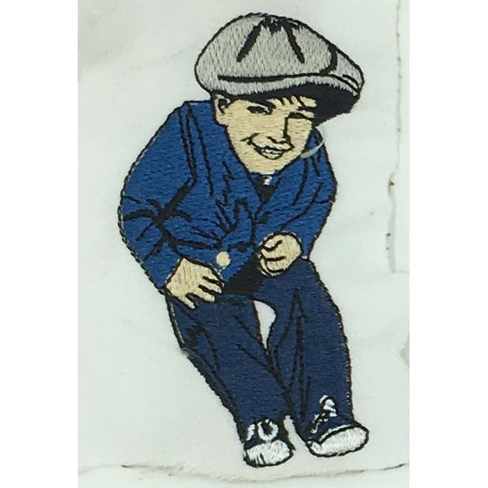 custom  boy logo embroidery digitizing Featured Image