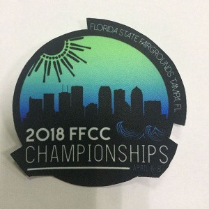 custom made ffcc sublimation patch