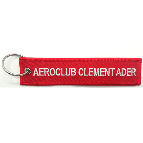 aeroclub alenent ader pilot embroidery keychain Featured Image