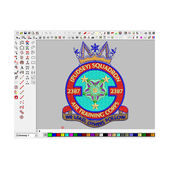 computer embroidery chapter digitizing service Featured Image