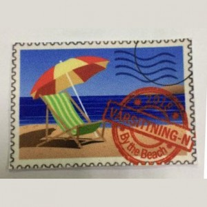 custom made stamp sublimation patch
