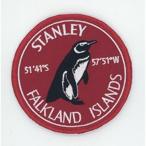 custom made stanley logo embroidery patch
