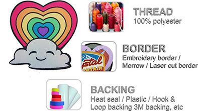 woven label 产品细节
