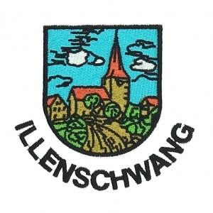 illenschwang logo 3d embroidery  digitizing