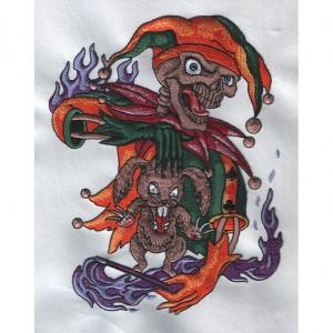 Hot Selling for 3d Flower Embroidery Design - joker – Printemb