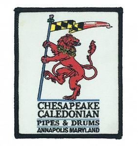 custom  chesapeake embroidered badge