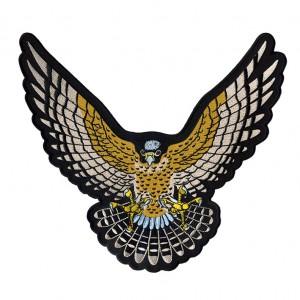 custom eagle logo shoulder/chest /back embroidery patch