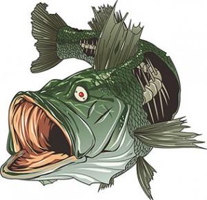 fish logo  vector conversion service