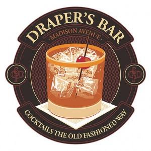 draper's bar logo sublimation patch