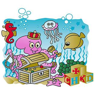 summer  T-shirt CHKD logo silk screen print patches Featured Image