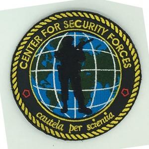 custom made center logo embroidery patch