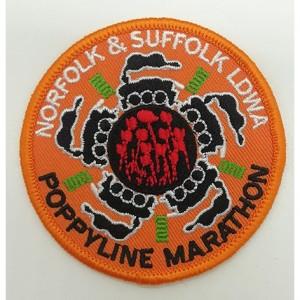 custom poppyune hand embroidered badges for clothing