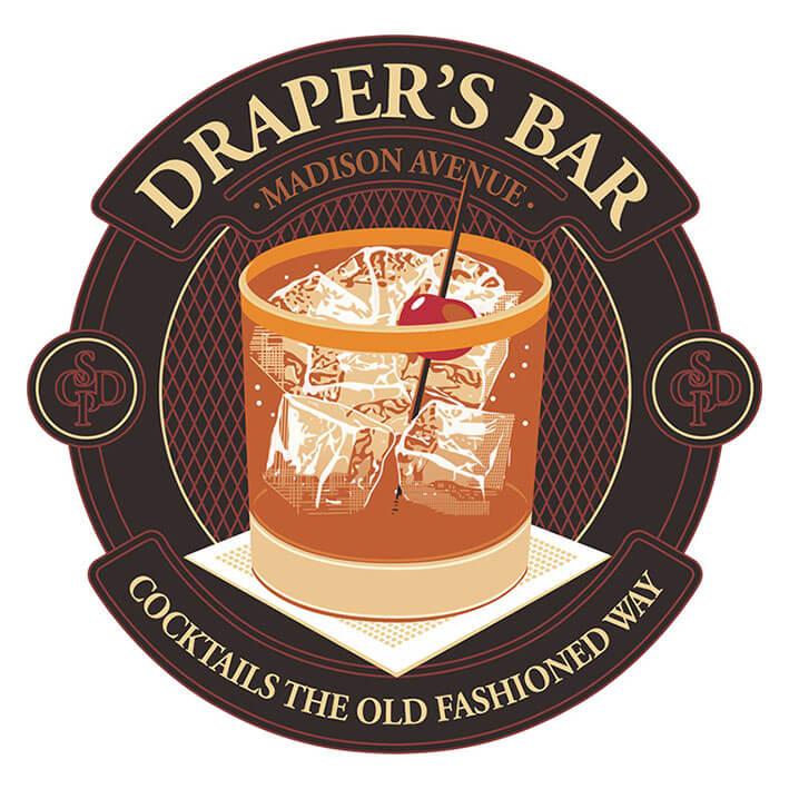 draper's bar logo vector conversion service Featured Image