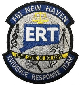 Custom made  ert logo embroidery patch