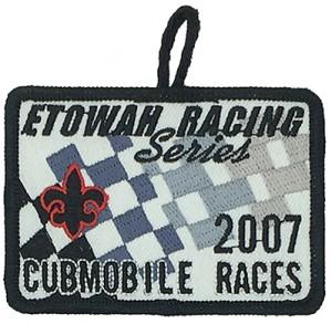 custom made etowah logo embroidery patch