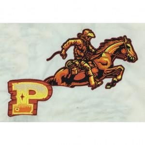 custom horse logo embroidery digitizing