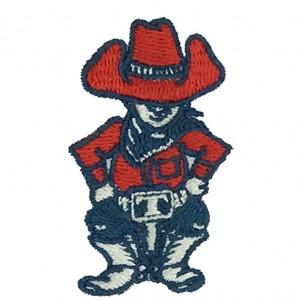 custom man logo embroidery digitizing service