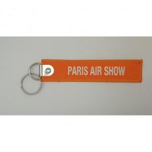 custom paris-air-show embroidery keychain