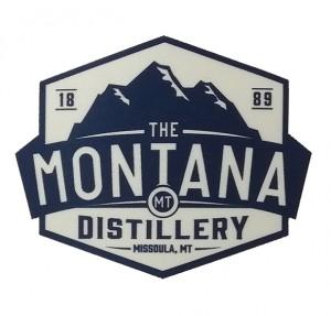 montana heat transfer silver logo sublimation patch