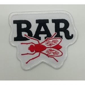 custom made bar logo  embroidery patch