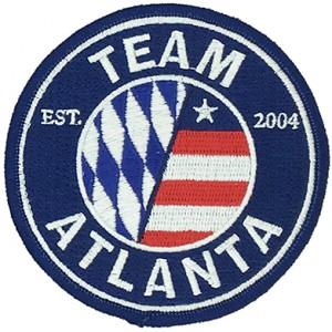Custom made  team logo embroidery patch