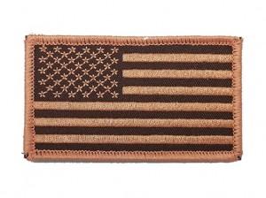 Custom made  USA flag embroidery patch